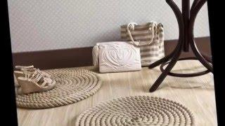 Коврики из веревок и шнура для уюта в доме