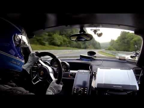 Onboard footage - Record Run 918 Spyder at the Nürburgring