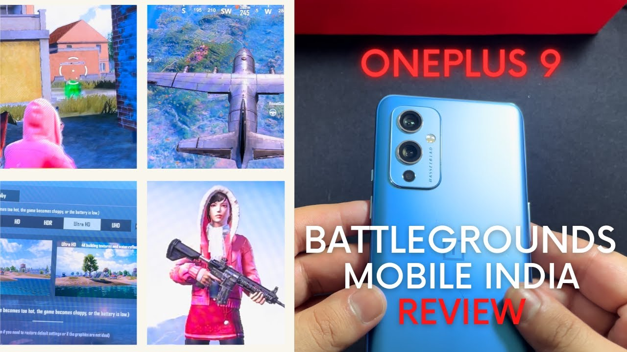 PUBG is back !! Battlegrounds Mobile India on #OnePlus 9 5G   Gaming Review (BGMI)
