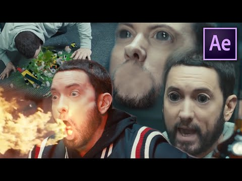 5 Effects UNDER 5 MINUTES From Eminem - Godzilla (After Effects)