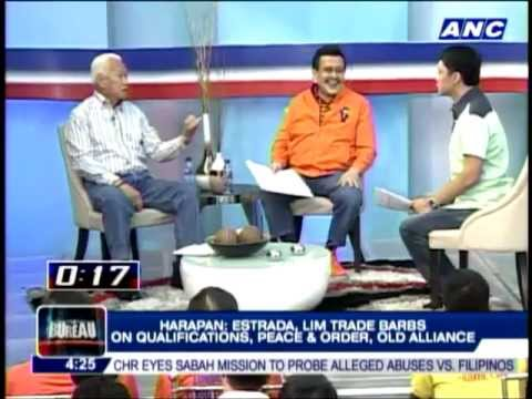 Erap Estrada and Alfredo Lim Debate in Umagang Harapan