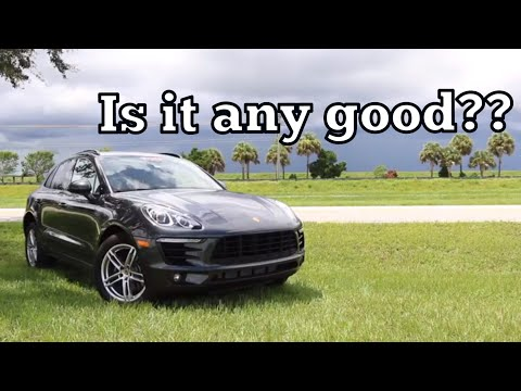 The 2017 Porsche Macan: Is Four Cylinders Enough?