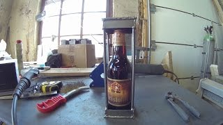 Diy   Bottle In Cage / Funny Gift Idea