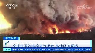 [天下财经]世界气象组织:2019年为史上第二热| CCTV财经