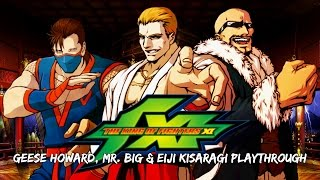 The King of Fighters XI: Geese, Mr. BIG & Eiji Playthrough (Worst Playthrough Ever) (PS2)