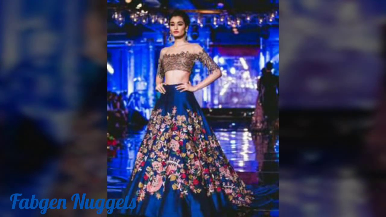 Latest Indian Bridal Wear For Sangeet 2017 Youtube