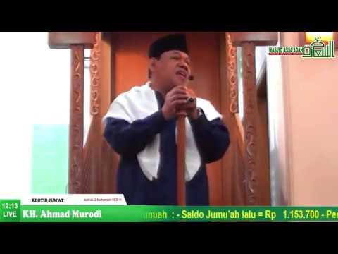 Peristiwa Hijrah | Khutbah Jum'at Masjid Jami Assa'adah - KH. Ahmad Murodi