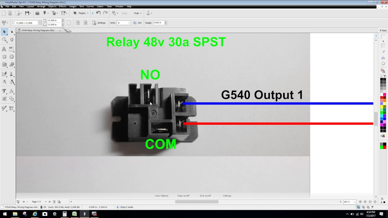 maxresdefault gecko g540 relay configuration & wiring diagram explained youtube Gecko 540 CNC Driver at creativeand.co