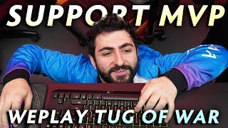 Nigma.GH — support MVP of WePlay Tug of War