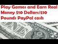 Make Money Online Play And Earn PayPal Money Via Games With Payment Proof