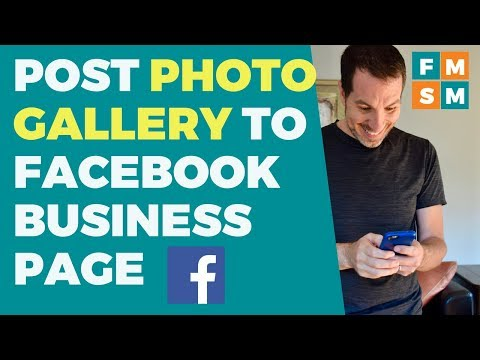 Post Photo Gallery To Facebook Business Page