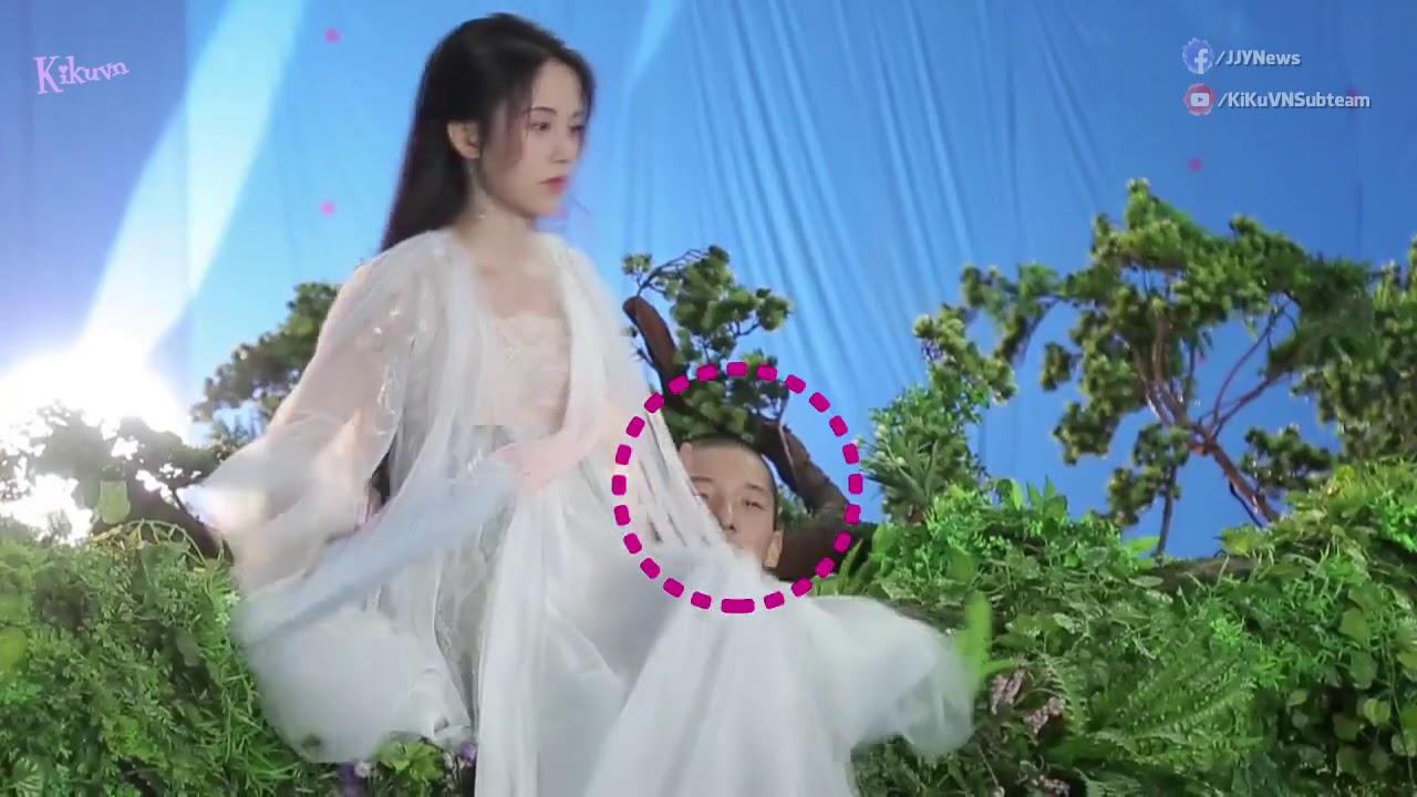 Phim Hay -  Hậu Trường 《Tân Bạch Nương Tử Truyền Kỳ》Hạt Dẻ Cười Tiểu Bạch Cười Ha Ha - Cúc Tịnh Y