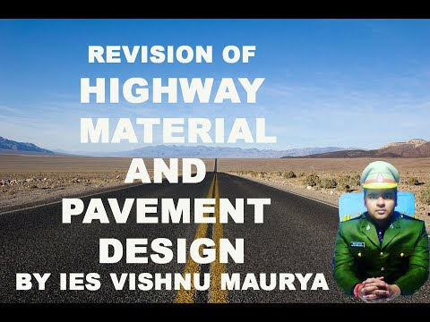 Revision Of Highway Material & Pavement Design By IES Vishnu Maurya