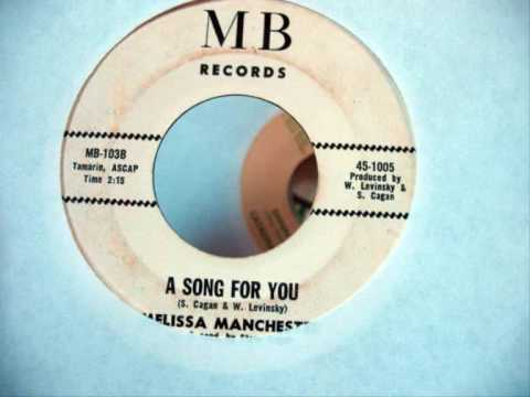 "Melissa Manchester - ""A Song for You"" (1967)"