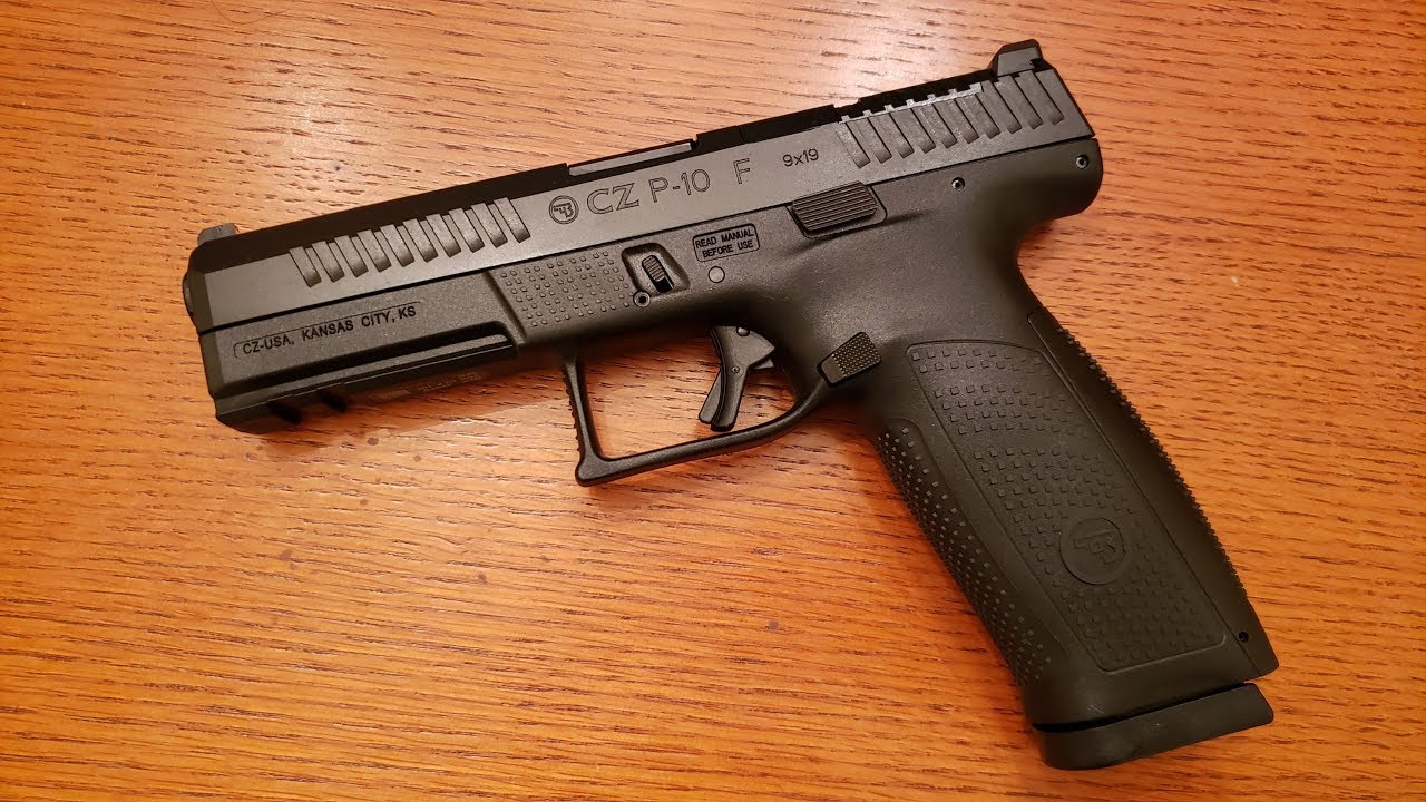 first shots out of my new cz p10F | The High Road