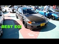 Honda Civic EG4 Carbon Fiber Custom - Borneo Kustom Show 2017