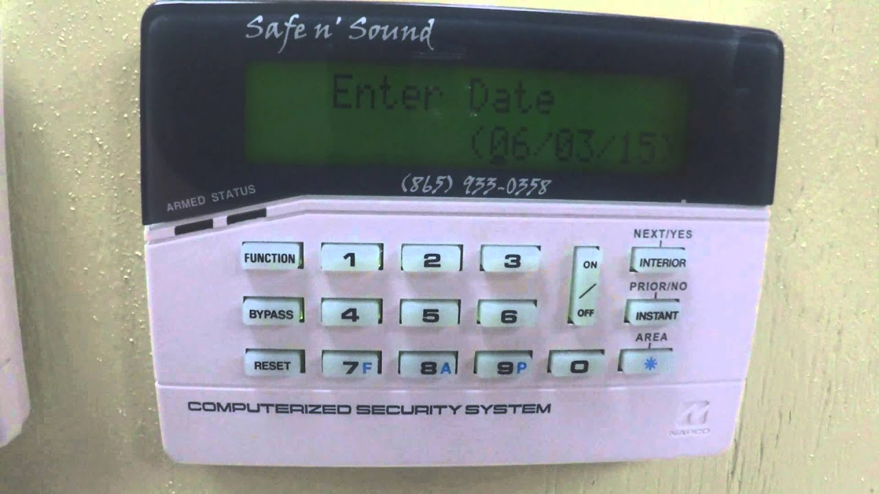 maxresdefault napco gemini lcd keypad date time change how to youtube napco 801 installation manual at bakdesigns.co