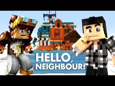 LE NEIGHBOR PAR AU SKI !! Hello Neighbor Minecraft