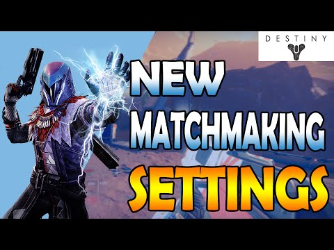 destiny how to disable matchmaking