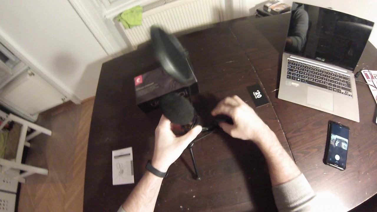 Unboxing Yanmai SF-777  Mikrofon Sound Test