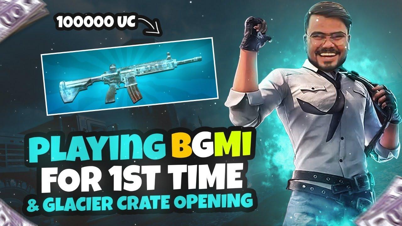 BGMI FIRST TIME 100K UC CRATE OPENING  || ANTARYAMI GAMING