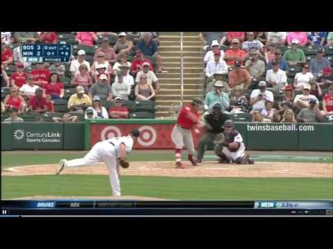 Andrew Benintendi Home Run: 3/26/17