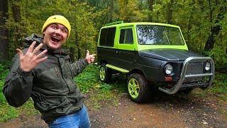 Купили на аукционе необычный автомобиль за 100 тысяч и нашли его в лесу