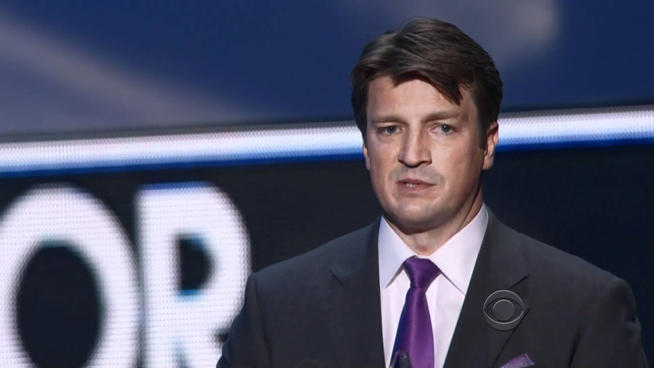People's Choice Awards: Nathan Fillion & Castle Win! - YouTube