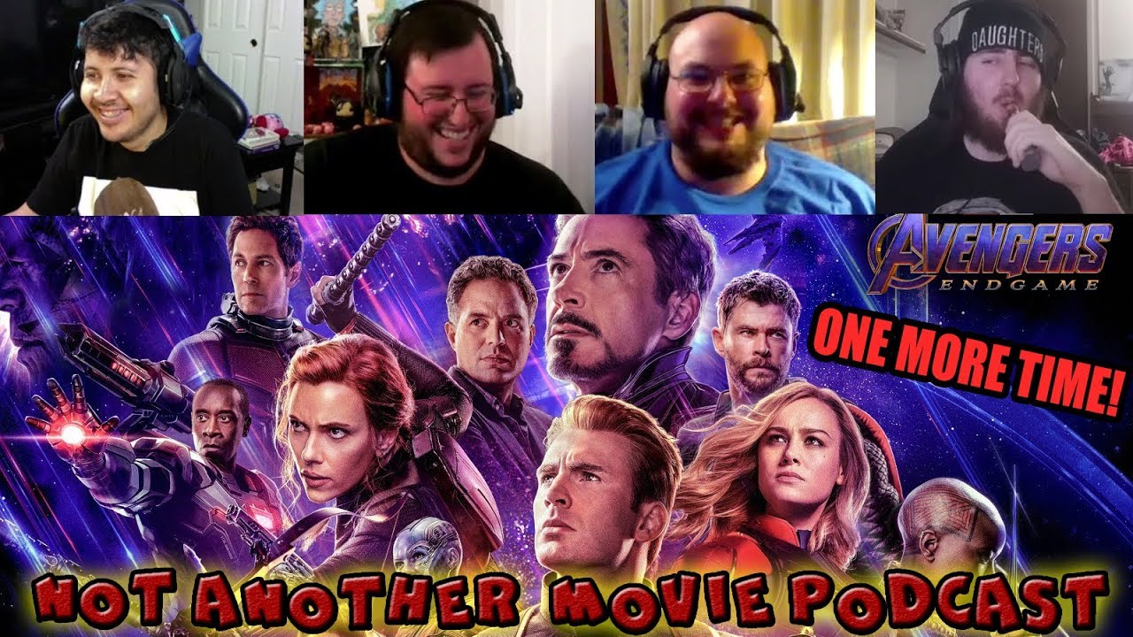 ENDGAME 2nd Spoiler Talk, Sonic Trailer, & Trivia Games! - Not Another Movie Podcast #35