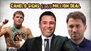 Canelo Alvarez Signs Biggest Deal In Sports History - $365 Million Dollars with DAZN