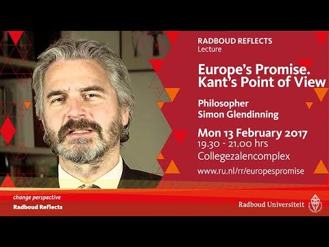 Europe's Promise. Kant's Point of View | Lecture by philosopher Simon Glendinning