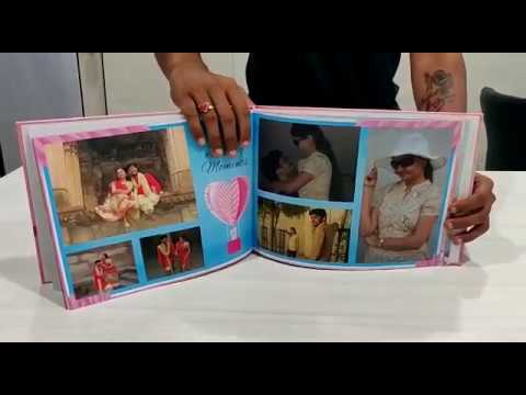 Personalized Anniversary Photo Book By Picsy | Best Anniversary Photo Album Ideas