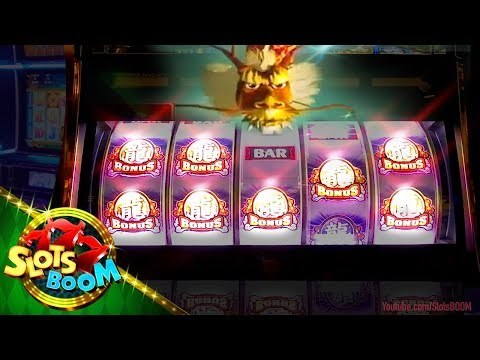 KING OF DRAGONS BONUSES!!! 2c ARUZE Slot at SAN MANUEL CASINO