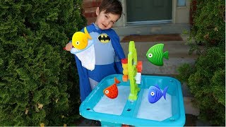 Learn Colors with Fish Surprise Toys for kids and babies