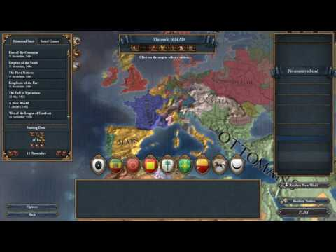 Europe map from 1444 AD to 1792 AD - Europa Universalis IV