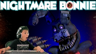 Five Nights at Freddy's at Chuck E Cheese Roblox Jump Scare Nightmare Bonnie FNAF CEC Video Game