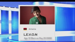 JESC 2018 FINAL SHOW REACTION: LEVON ARMENIA