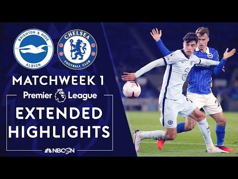 Brighton v. Chelsea | PREMIER LEAGUE HIGHLIGHTS | 9/14/2020 | NBC Sports