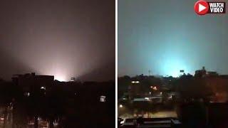 Mysterious Flashing Lights & Strange Noises Leave Residents Terrified