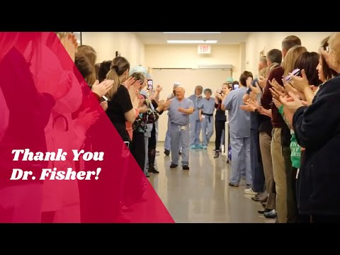 Thank You Dr. Fisher!