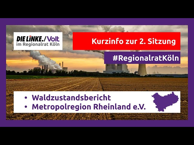 Regionalrat Köln Episode #02 2021