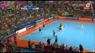 (Futsal Tailandia 2012) Final completa: España 2 - 3 Brasil