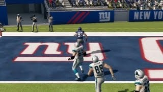 Blackburn Interception - Madden NFL 13 Gameplay (PS3)