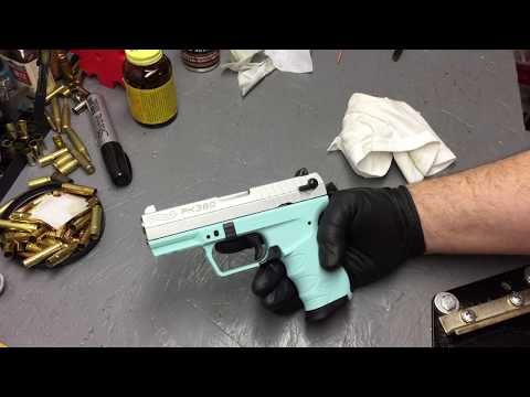Cleaning a new Firearm before the first firing (PK380)