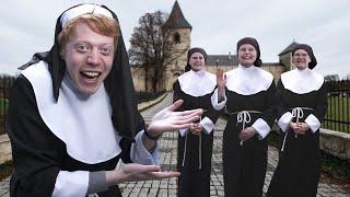 Lever en dag som nunna i ett svenskt kloster