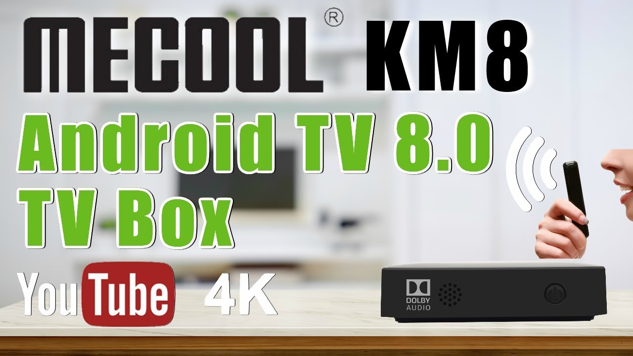 Mecool KM8 Android 8 0 4K Voice Remote TV Box Overview