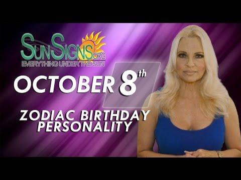 Facts & Trivia - Zodiac Sign Libra October 8th Birthday Horoscope