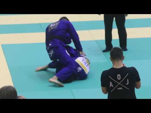 ヒクソン杯2016フェザー決勝 ハファエル・メンデス(AOJ) VS 平尾悠人(X-TREME柔術アカデミー)