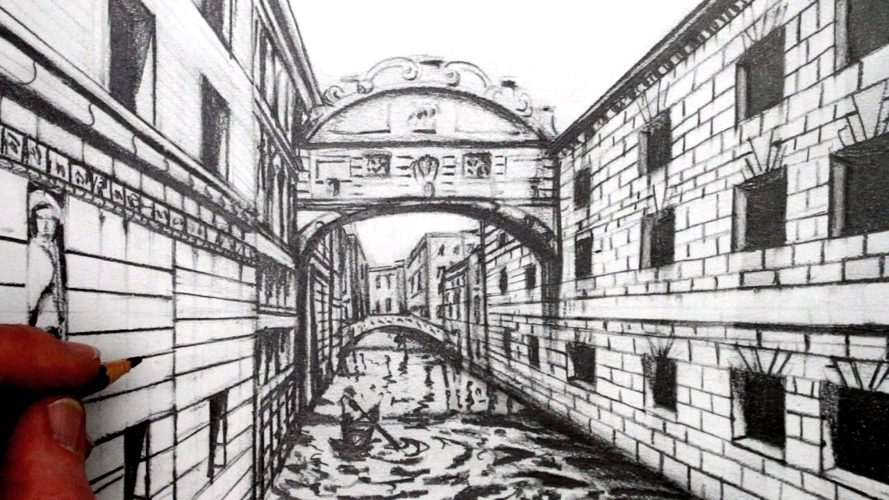 perspective drawings of buildings. Wonderful Buildings With Perspective Drawings Of Buildings A