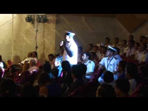 Maritime Training Institute, SCI, Powai ! Cadet Singing Hum Tere Bin Ab Reh nahi Sakte